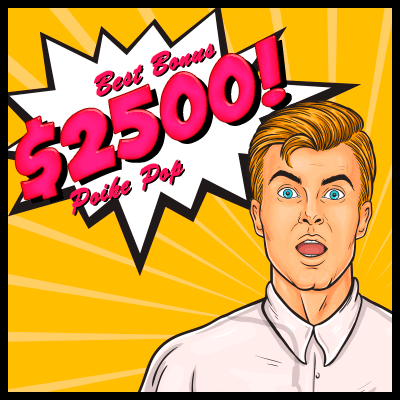 Pokie Pop the Best Deposit Bonus - Get up $2,500 into the Account