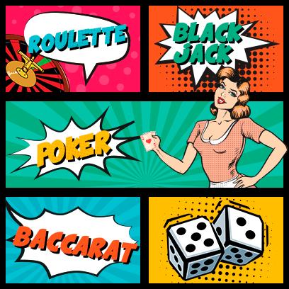 Pokie Pop Most Popular Games: Roulette, BlackJack, Poker, Baccarat