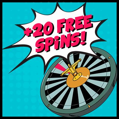 Pokie Pop Bonus - 20 Free Spins Every Day