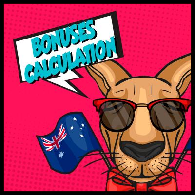 How australian casinos calculate their bonuses